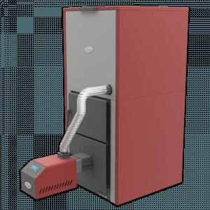 Centrala peleti compacta MP35KW cu arzator SMB50 3