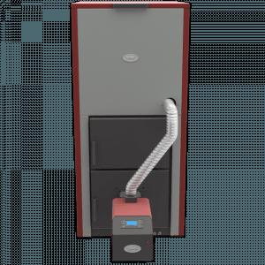 Centrala peleti compacta MP35KW cu arzator SMB50 2