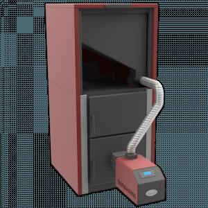 Centrala peleti compacta MP35KW cu arzator SMB50 5
