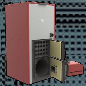 Centrala peleti compacta MP35KW cu arzator SMB50 6